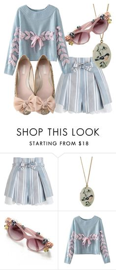 """""""Jolly Holiday"""" by fashionforwarded ❤ liked on Polyvore featuring Zimmermann, Topshop and Chicnova Fashion"""
