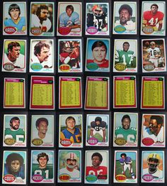 1976 Topps Football Cards Complete Your Set You U Pick From List 401-528