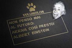"""Anche per questo era un GENIO!!! """" Non penso mai al futuro: arriva così presto! """" Albert Einstein #einstein, #futuro, #genio, #tempo, #aforisma, #italiano,"""