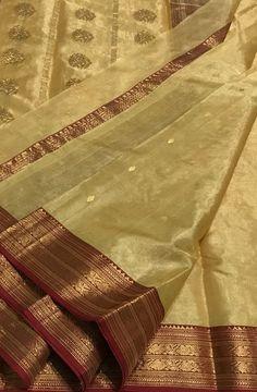 Pastel Handloom Chanderi Katan Silk Saree #Chanderisaree#saree#sareeindia#traditionallook#sareefashion#indianculture#desilook#loveforsaree#silksaree#