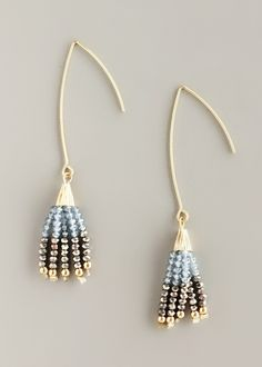 Elegant Emma Tassel Earrings – Pree Brulee