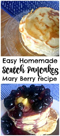Easy foolproof recipe for delicious homemade Scotch Pancakes by Mary Berry! Just… Easy foolproof recipe for delicious homemade Scotch Pancakes by Mary Berry! Just five ingredients and ten minutes for an amazing brunch treat! Brunch Recipes, Breakfast Recipes, Pancake Recipes, Breakfast Ideas, Breakfast Platter, Mexican Breakfast, Crepe Recipes, Breakfast Sandwiches, Breakfast Pizza