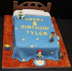 Kids Birthday Cake by Cecy Huezo , www.delightfulcakesbycecy.com