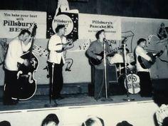 Roy Orbison & Teen Kings on stage 1956