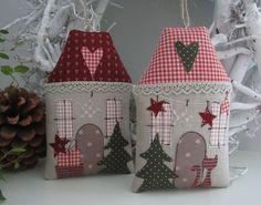 Weihnachts Haus Landhaus Geldgeschenk von Feinerlei auf DaWanda.com