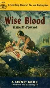 Our AP Reading List Book-A-Day choice for today is Wise Blood by Flannery O'Conner