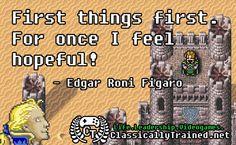 video game quotes final fantasy vi Edgar
