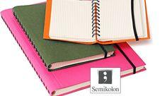 Semikolon Interno – Ein Ringnotizbuch mit Gummiband #notebook #diary #stationary #notizbuch #tagebuch #papier #notizbuchblog