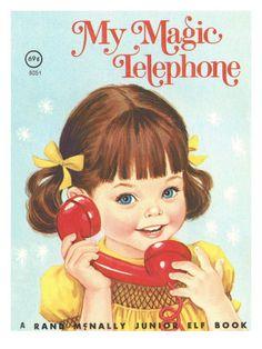 My Magic Telephone Lámina fotográfica