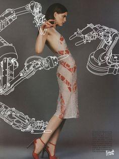 Dr. Propolus Adds Flourishes to Fashion Spreads | Hi-Fructose Magazine