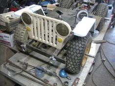 Amazing Mini GoCart WWII Military Willys Jeep Replica | Offroaders.com