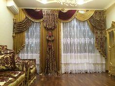 """Шторы классические с декором """"Графский рукав"""", цена , купить в Одессе — Prom.ua (ID#30032816)"""