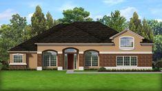 Family House Plans, Ranch House Plans, Best House Plans, House Floor Plans, Dream Home Design, House Design, Corner Soaking Tub, European Plan, European House