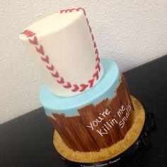 Sandlot Birthday Cake