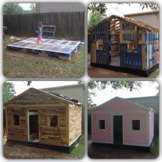 DIY cubby house
