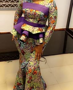 Latest African Fashion Dresses, African Print Dresses, African Dresses For Women, African Print Fashion, African Attire, Lace Skirt And Blouse, Ankara Skirt And Blouse, Lace Blouse Styles, Ankara Dress Designs
