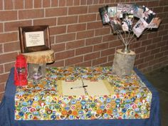 Eagle Scout Court of Honor Tablescape