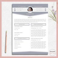 Clean Cv Template Clean Resume Modern Cv Template Modern Resume