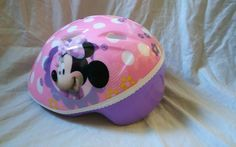 Disney Minnie Mouse Toddler Bicycle Helmet | Sporting Goods, Cycling, Helmets & Protective Gear | eBay!
