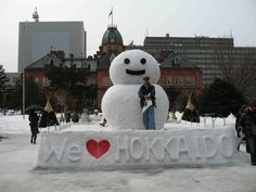 The Sapporo Snow Festival, one of Japan's largest winter events is open to 02/11.  Every winter, about two million people come to Sapporo to see the hundreds of beautiful snow statues and ice sculptures.