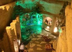 Kish, Iran - 8 Underground Cities of the World That Open Your Eyes - EnkiVillage Pueblo House, Underground Cities, Places To Visit, Around The Worlds, Island, City, Creative, Painting, Maps