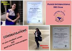 Students passed in DIE exam. Spanish Language Classes, Students, Success