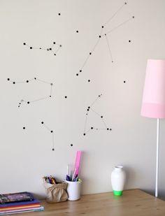 10 ideias de decoração para trazer o espaço sideral à sua casa