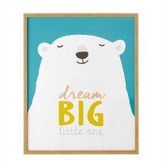 Cuadro con oso polar 62 x 72 cm KIMO