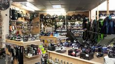 A view at the new look Fishing Republic Sheffield store.