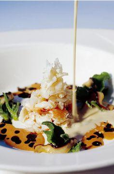479, El Bulli, 1998, tapas,  horchata con buey de mar (horchata with crab)