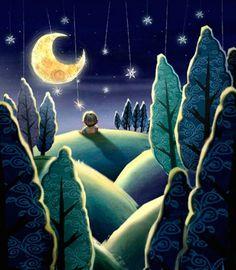 Todos duermen no queda nada entre la luna y yo.