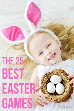 Make it the BEST EASTER EVER with these super fun Easter games for kids. Quick and easy to set up, these games are great for family functions, egg hunts and Easter parties. Hop to it with Easter games that can be used indoor and outdoor. Easter Activities For Kids, Holiday Activities, Preschool Activities, Spring Activities, Games For Preschoolers, Toddler Preschool, Family Activities, Easter Scavenger Hunt, Scavenger Hunt For Kids