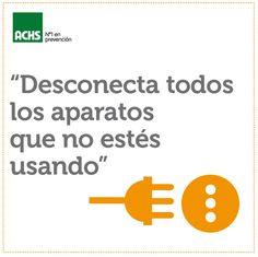 Cuida la electricidad #masprevencion #medioambiente