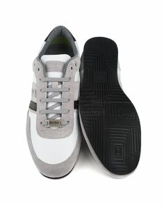 466e98850 Zapatos Hugo Boss Lighter Lowp Life - Blanco