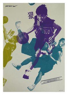 Poster: Nike; If not original, be Max Huber.