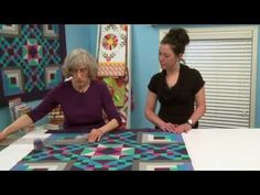 In this sixth of nine free video lessons, Sherri Bain Driver and Tracee Doran. Quilting Blogs, Quilting Tutorials, Sewing Tutorials, Quilting Ideas, Amish Quilts, Easy Quilts, Baby Rag Quilts, Patchwork Tutorial, Christmas Quilt Patterns