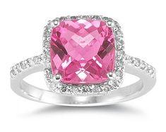 Pink Diamond Engagement Rings - Bing Images