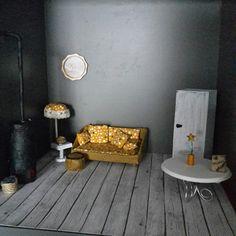 Mini living room.