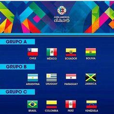 como les parecieron los grupos de la copa america 2015
