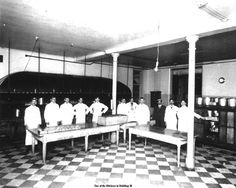 one of the kitchens in Building 50 Mental Asylum, Insane Asylum, Abandoned Asylums, Abandoned Places, Old Hospital, Psychiatric Hospital, Into The Abyss, Rest House, Mental Health Care