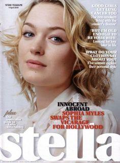 Sophia Myles - Stella Magazine [United Kingdom] (9 April 2006)