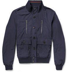 GucciLightly Padded Poplin Bomber Jacket