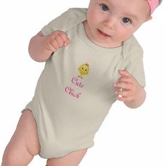 Cute Chick baby shirt
