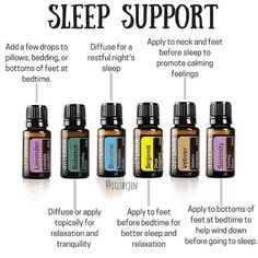There are so many options when it comes to essential oils and sleep!  You can use these individually, combine in a roller, and diffuse. They are great for kids and babies too!