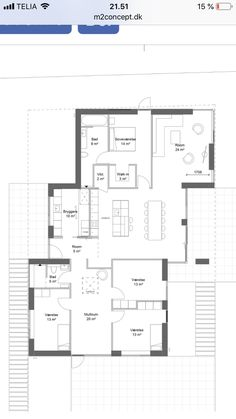 House Layouts, House Floor Plans, Planer, Future House, Bungalow, Sweet Home, New Homes, Houses, House Design