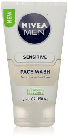 Nivea for Men Sensitive Face Wash for Men, 5 Ounce Nivea Men, To buy To SEE or BUY just CLICK on AMAZON right here http://www.amazon.com/dp/B00GXZS5VW/ref=cm_sw_r_pi_dp_2vUEtb0FKB85EAW6