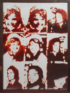 Jackie (Pictures of Chocolate) by Vik Muniz on artnet Auctions