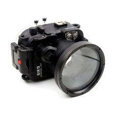 >> Click to Buy << Meikon 60m/195ft Underwater Waterproof Camera Housing Case for Canon Power shot G1X II G1X Mark II #Affiliate