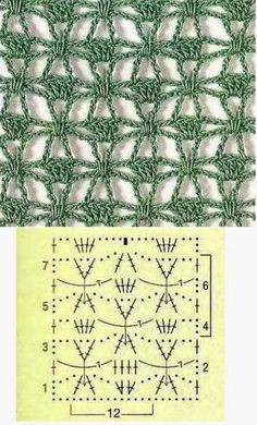 Patterns and motifs: Crocheted motif no. 439