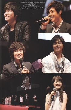 Boys Over Flowers, Actors Style Korea Vol.18, Autumn, 2009.